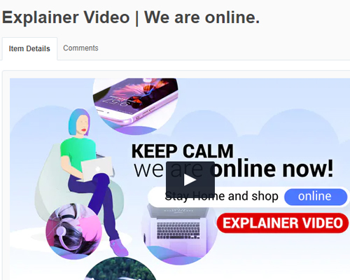 EXPLAINER VIDEO, WE ARE ONLINE TẢI VỀ MIỄN PHÍ