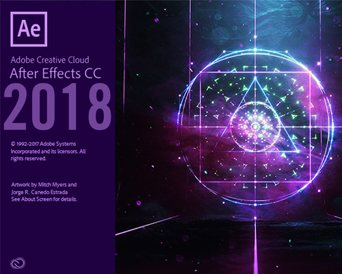Phần mềm adobe After effects 2018