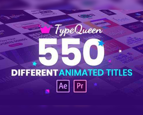 TYPEQUEEN-ANIMATED TITLE AND KINETIC TEXT